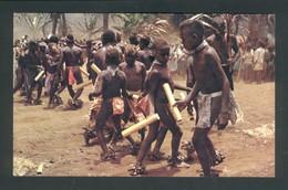 "Vanuatu - New Hebrides - Pentecost Dancers Celebrating The Famous ""Big Jump""ceremony - Vanuatu"