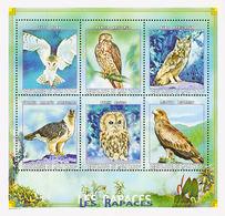 MDB-BK10-013 MINT ¤ MALI 2000 6w In Sheet ¤ HIBOUX - BIRDS OF THE WORLD -  OISEAUX - VOGELS - VÖGEL - SONGBIRDS - Owls