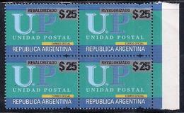 Argentine - 2018 - Réévalué - Inflation - UP - MNH ** - Neuf - Argentina