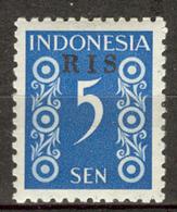 INDONESIA MNH ** 1950  ZBL 46 RIS - Indonésie