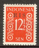 INDONESIA MNH ** 1950  ZBL 49 RIS - Indonésie