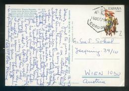 TP Circulada A Austria El 18 Oct. 1975. Fechador *Avión - Córdoba* Sobre Edifil Nº 2281. - 1931-Hoy: 2ª República - ... Juan Carlos I