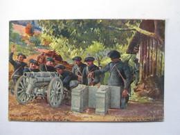 CANON DE 65  DE MONTAGNE DES ALPINS               TTB - Militaria