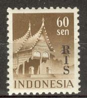 INDONESIA MNH ** 1950  ZBL 56 RIS - Indonésie