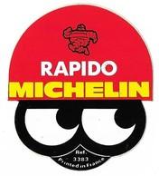 Autocollant - Automobiles - Pneu - RAPIDO MICHELIN - 6 X 5 Cm - Stickers