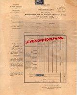 37- SAINT PATERNE- CONTRIBUTION SUR VOITURES CHEVAUX MULES ET MULETS 1895 - VICTOR ROULLEAU BRULON - Documents Historiques