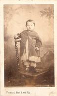 Photographie Par Froment Père & Fils à Lodève, Cette, St-Pons, Perpignan, Portrait Sur Chaise, Photo Cdv Ca 1870 - Anciennes (Av. 1900)