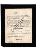 Doodsbrief Marc Serdobbel (Le Révérend Père Léonce) °1890 Gent †1921 Pa-Tong - Missionaris Te China  (H11) - Décès