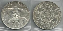 AUSTRIA 1959 - Tiroler Freiheit - 50 Schilling SPL / FDC - Argento / Argent / Silver - Confezione In Bustina - Austria
