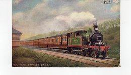 LES LOCOMOTIVES  (Royaume-Uni) SOUTHEND EXPRESS L.T.&S.R. - Eisenbahnen