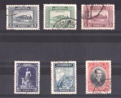 Turquie - 1929 - N° 744 à 749 Oblitérés - 1921-... Republik