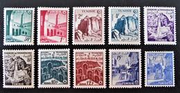 ROYAUME INDEPENDANT 1956 - NEUFS * - YT 402/11 - MI 443/53 - Tunisie (1956-...)
