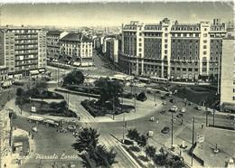 """2053 """" MILANO PIAZZALE LORETO TRAMS,AUTO E CAMION ANNI '50-DISTRIBUTORE ESSO """"  CARTOLINA POSTALE ORIG.  SPEDITA - Milano (Milan)"""