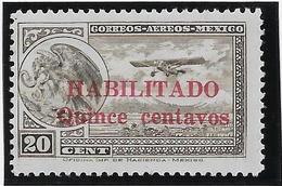 Mexique Poste Aérienne N°36 -  Neuf * Avec Charnière - TB - Mexique