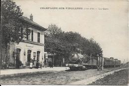 Beau Lot De 60 Cartes Postales Diverses (gare, Marché ...) Prix De Départ 1 Euro !!! - Ansichtskarten