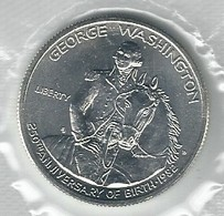 U.S.A. 1982 - George Waschington - HALF DOLLAR FDC - Argento / Argent / Silver - Conf. Originale (4 Foto) - Emissioni Federali