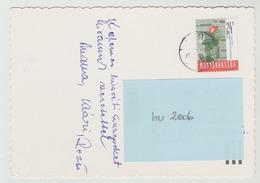 20.3.1998 -  SM A. Satz Auf Glückwunschkarte, Gel. V.  Györ N.  4040 Linz - O Gestempelt - Siehe Scans (hu 2006) - Ungarn