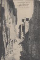 Evènements - Tremblement De Terre Du 11 Juin 1909 - Saint-Cannat - Rue En Ruines - Catástrofes