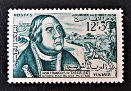 JOURNEE DU TIMBRE 1956 - NEUF * - YT 419 - MI 464 - Tunisie (1956-...)