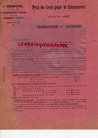 69- VILLEFRANCHE SUR RHONE- RARE LETTRE V. VERMOREL CONSTRUCTEUR PULVERISATEUR SOUFREUSE 1897- - Agricoltura