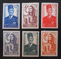 AUTONOMIE 1956 - NEUFS * - YT 420/25 - MI 465/70 - Tunisie (1956-...)