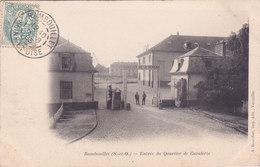 Rambouillet Entrée Du Quartier De Cavalerie éditeur A Bourdier - Rambouillet
