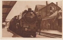 C.P.A. - 6 - CHEMIN DE FER DU NORD - TRAIN RAPIDE 7 - PARIS - BOULOGNE - L. DANEL SERIE 1933 - Matériel
