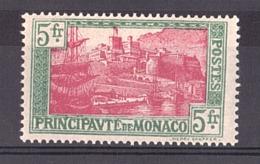 Monaco - 1924/33 - N° 102 - Neuf * - Neufs