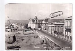 MESSINA TORRE FARO MONUMENTO E CHIESA ANNI 50 NON VIAGGIATA - Messina