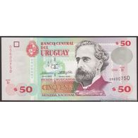 TWN - URUGUAY 75b - 50 Pesos Uruguayos 2000 Serie B UNC - Uruguay