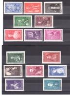Monaco - 1942 - N° 234 à 248 - Neufs * - Princes Et Princesses - Unused Stamps
