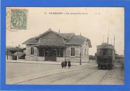 92 HAUTS DE SEINE - CLAMART La Nouvelle Gare, Tramway - Clamart