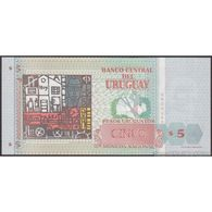 TWN - URUGUAY 80a - 5 Pesos Uruguayos 1998 Serie A UNC - Uruguay
