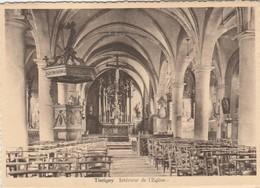 Torgny , (  Virton ) , Intérieur De L'église - Tintigny