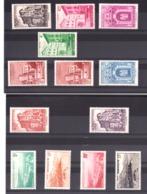 Monaco - 1948 - N° 307 à 313 - Neufs * - Variété (impression Empâtée) Sur 20F - Vues De La Principauté - Monaco