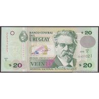 TWN - URUGUAY 86a - 20 Pesos Uruguayos 2008 Serie E UNC - Uruguay
