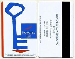 LUXEMBURG Hotelkarte Keycard Vom Novotel Hotel Luxembourg - Hotelkarten