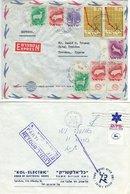 Israel - 2 Used Covers. H-1466 - Israel