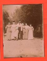 Meana Torino Foto Di Gruppo Nel Bosco 1907 - Anonymous Persons