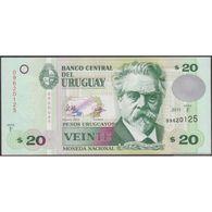 TWN - URUGUAY 86b - 20 Pesos Uruguayos 2011 Serie F UNC - Uruguay