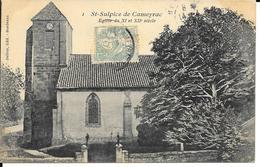 St SULPICE De CAMEYRAC  église - France