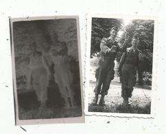 Photographie Et Son Négatif , 6.5 X 5 , Militaria ,militaires , Barbelés - Places