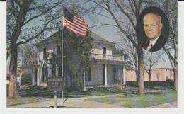 Postcard - Eisenhower Home And Museum, Abilene Kansas, Dated 15th Jan 1967 - Used Very Good - Postcards