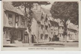Postcard - Domestic Architecture, Burford, Oxfordshire - Unused 1949 Good - Postcards
