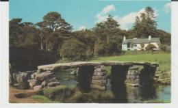 Postcard - Clapper Bridge At Postbridge Dartmoor - Card No.pt1358  - Unused Very Good - Postcards