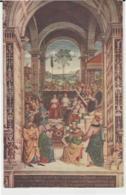 Postcard - Siena - Library Of The Dome - Pinturicchio, Catherine Of Siena - Unused Very Good - Postcards