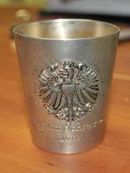 Silberner Stapel Mit Wappen. - Silverware