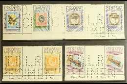 1990 POSTAL CENTENARY - DLR SPECIMENS Centenary Of Postage Stamps In Kenya Set (SG 547/51) In Never Hinged Mint Gutter P - Kenya (1963-...)