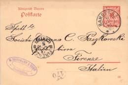 Treumann &.Sohn Bamberg>Firence 1910 AKS - Bavière