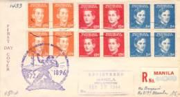 R-Brief Philipinnen FDC 1944 - Philippinen